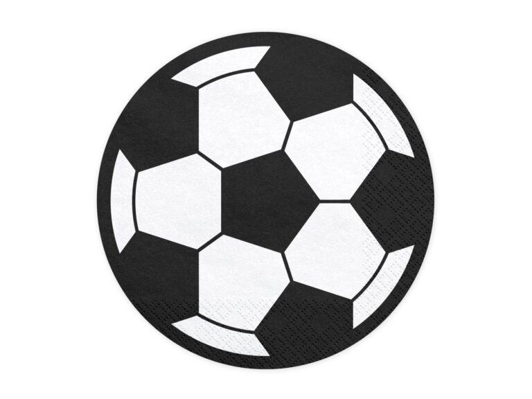 Χαρτοπετσέτες Μπάλα Ποδοσφαίρου  27×27εκ – 20 τεμάχια