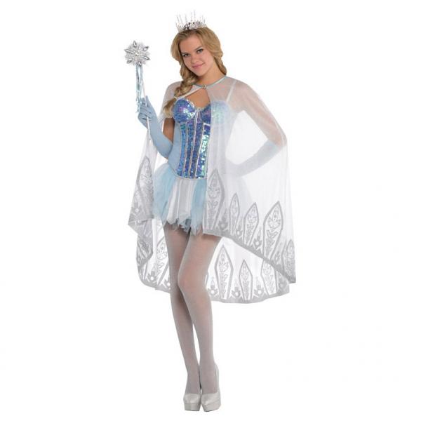 Πλαστική Διάφανη Κορώνα Frozen