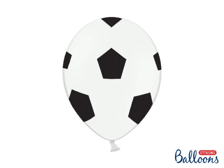 Μπαλόνια Latex Ποδόσφαιρο – 6 Τεμάχια