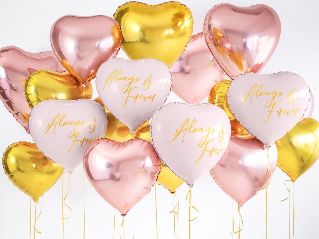 Μπαλόνι Foil Καρδιά Χρυσό 45εκ
