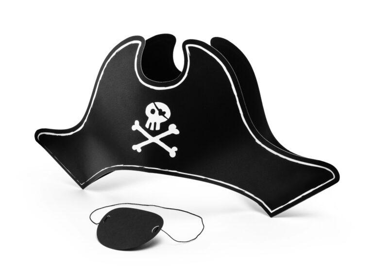 Σετ Καπέλο & Καλύπτρα Ματιού Πειρατή