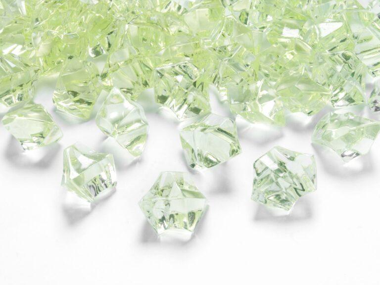 Κρυσταλλάκια Green Apple 25×21χλστ – 50 Τεμάχια