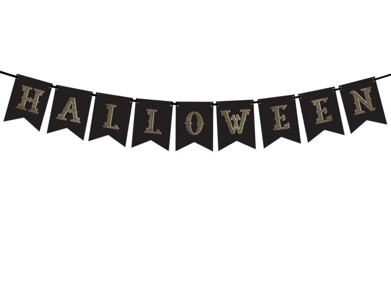 Χάρτινη Γιρλάντα Halloween