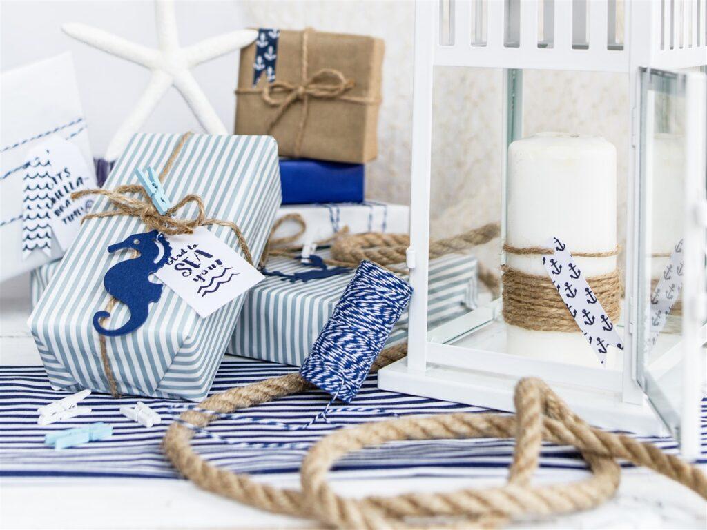 Καρτελάκια Δώρων Ahoy – 6 Τεμάχια