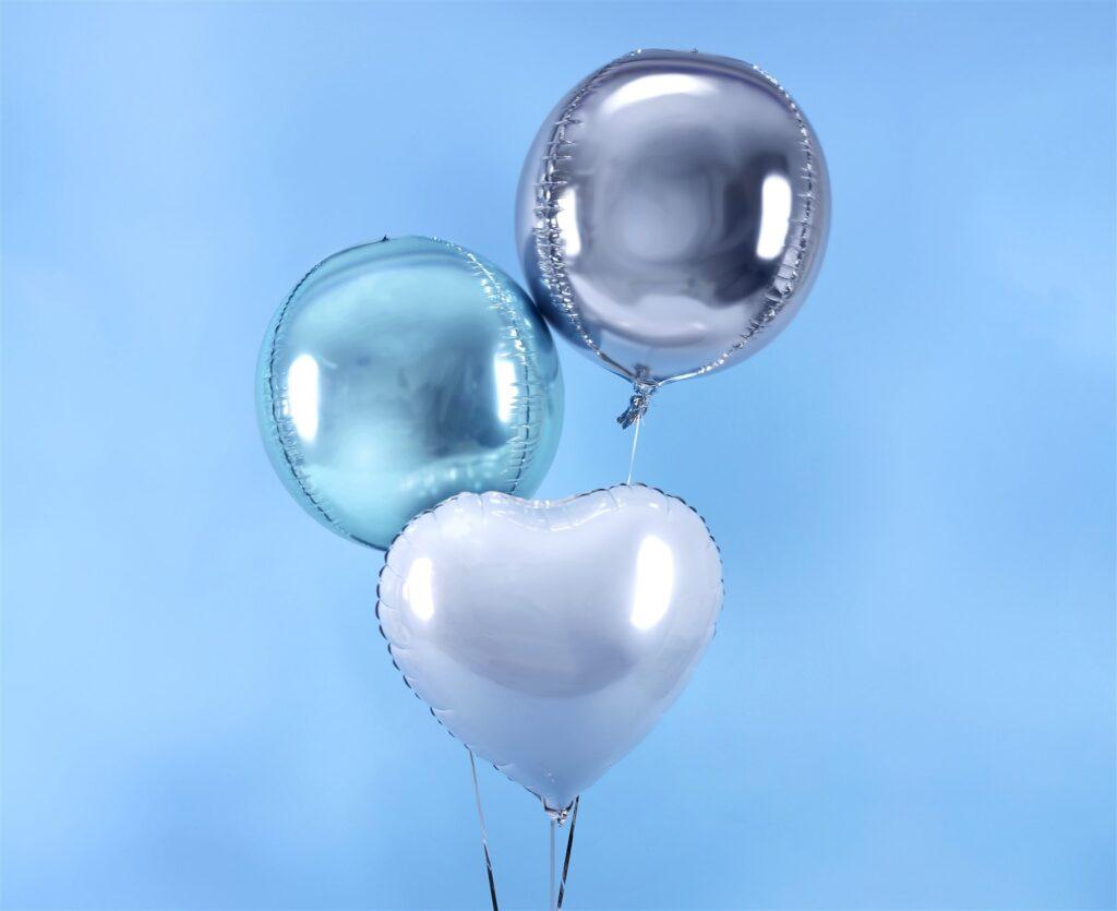 Μπαλόνι Foil Στρογγυλό Ασημί 40εκ