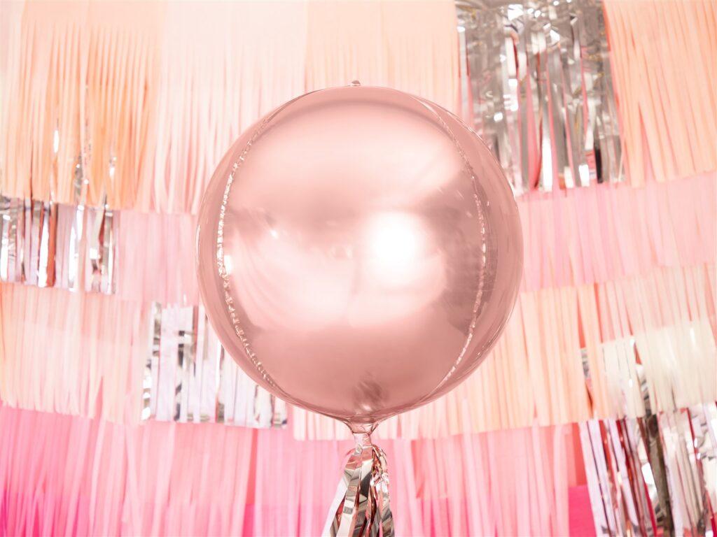 Μπαλόνι Foil Στρογγυλό Ροζ Χρυσό 40εκ