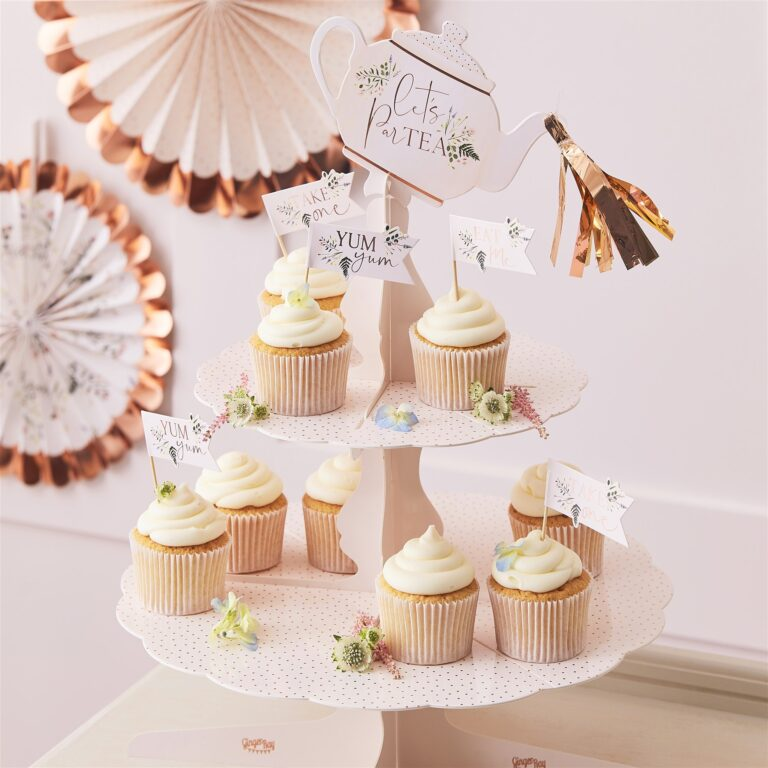 Cake Stand Tea Party 2 Επιπέδων