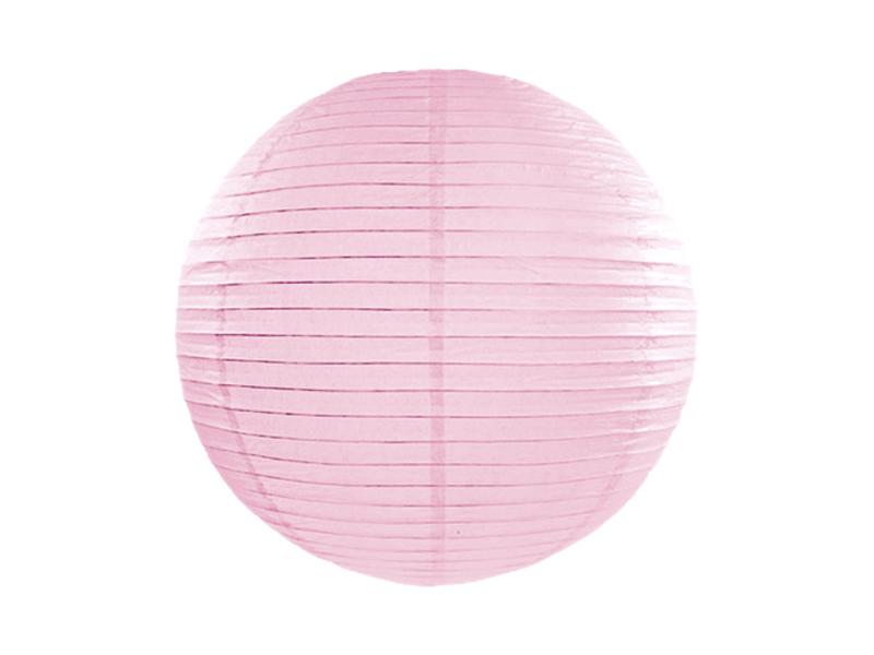 Χάρτινο Διακοσμητικό Φαναράκι Ροζ 25εκ