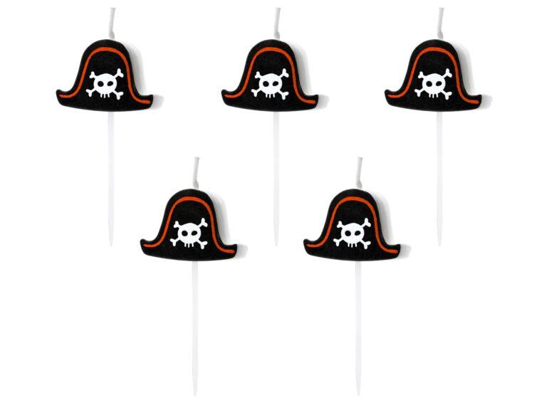 Κεράκια Πειρατής – 5 Τεμάχια