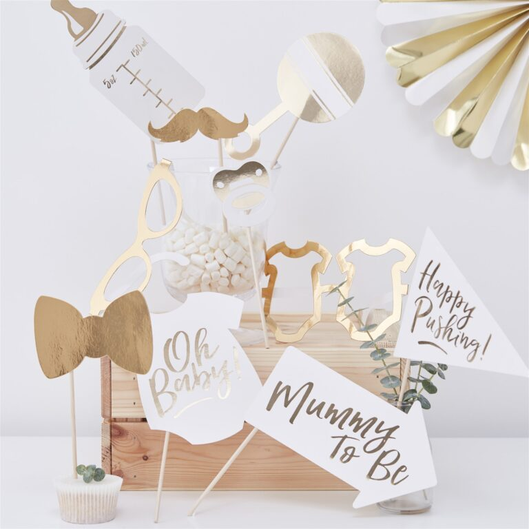 Photo Booth Props Oh Baby – 10 Τεμάχια