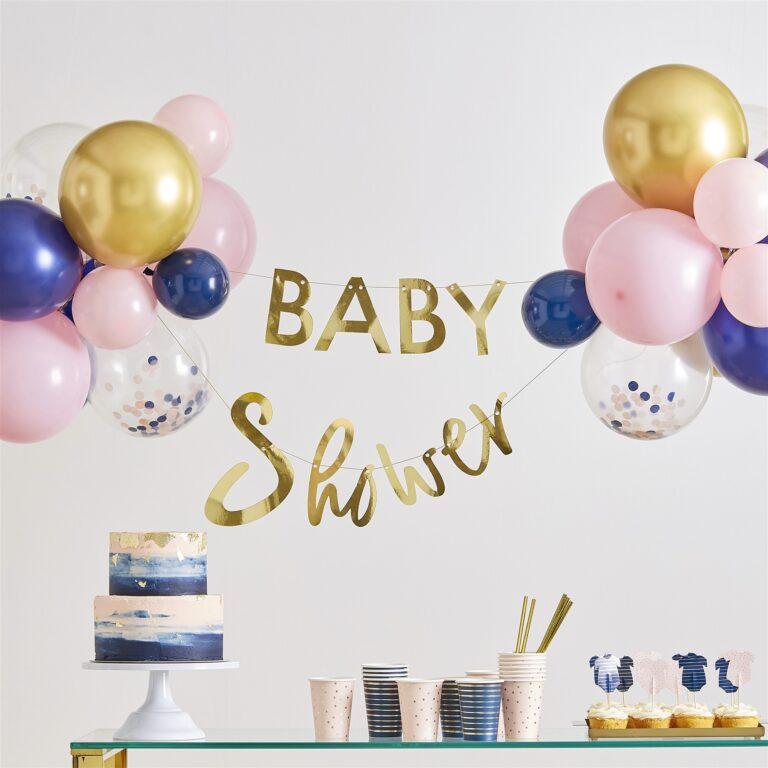 Σετ Γιρλάντα & Μπαλόνια Baby Shower