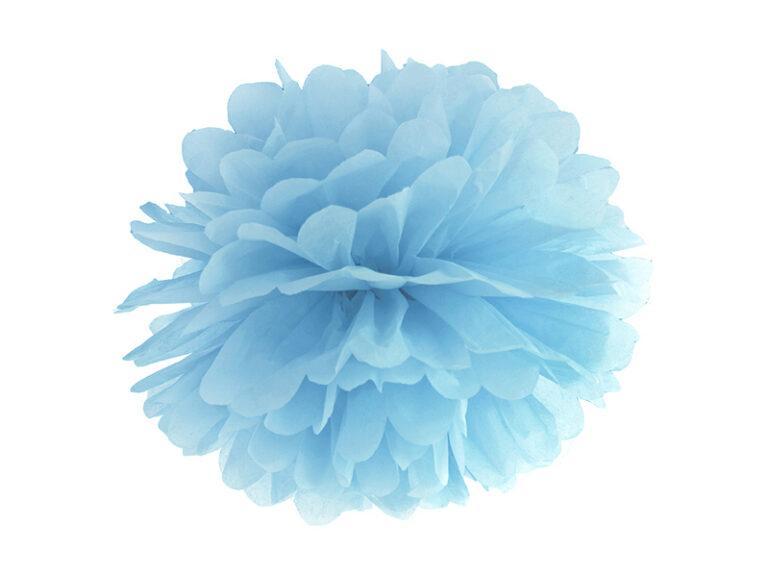 Χάρτινα Misty Blue Pom Pom 25εκ
