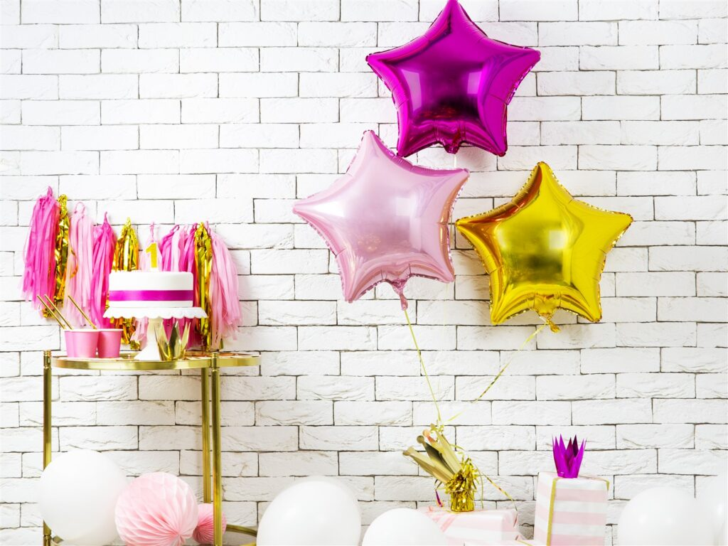 Μπαλόνι Foil Ροζ Αστέρι 48εκ
