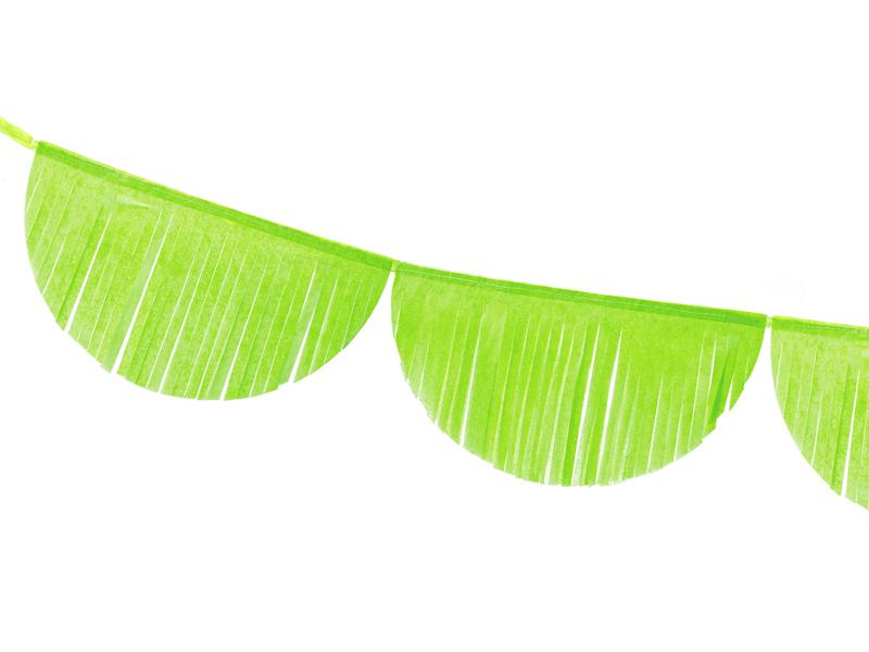 Χάρτινη Γιρλάντα με Κρόσια Πράσινη