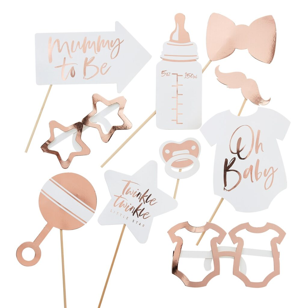 Photo Booth Props Twinkle Twinkle – 10 Τεμάχια