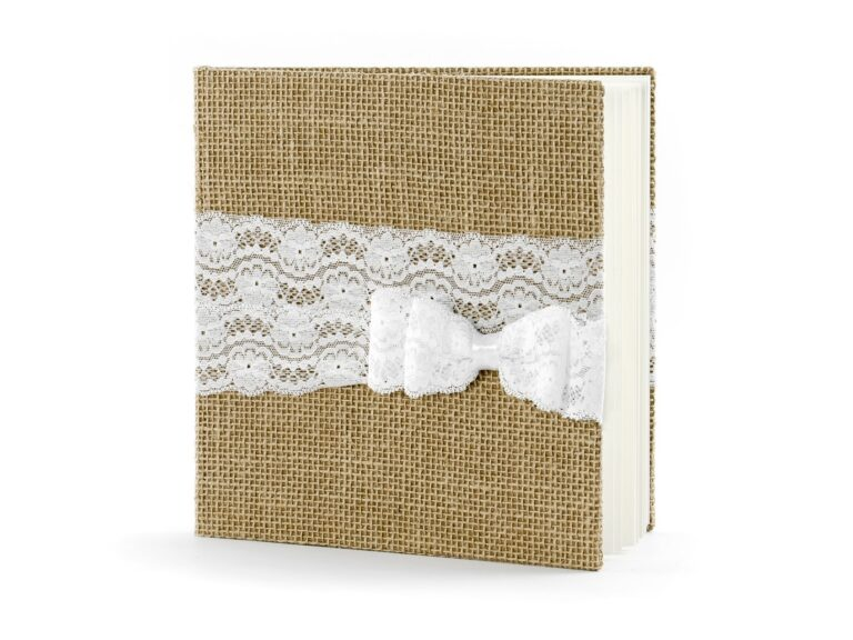 Ευχολόγιο – Βιβλίο Ευχών Γάμου Rustic Lace