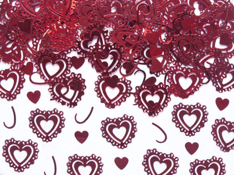Κονφετί Καρδιές – 15 Γραμμάρια