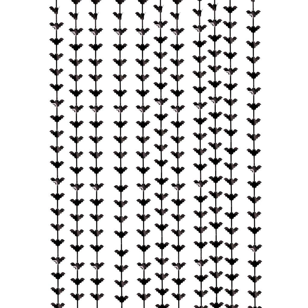 Διακοσμητική Κουρτίνα Νυχτερίδες 100×220εκ
