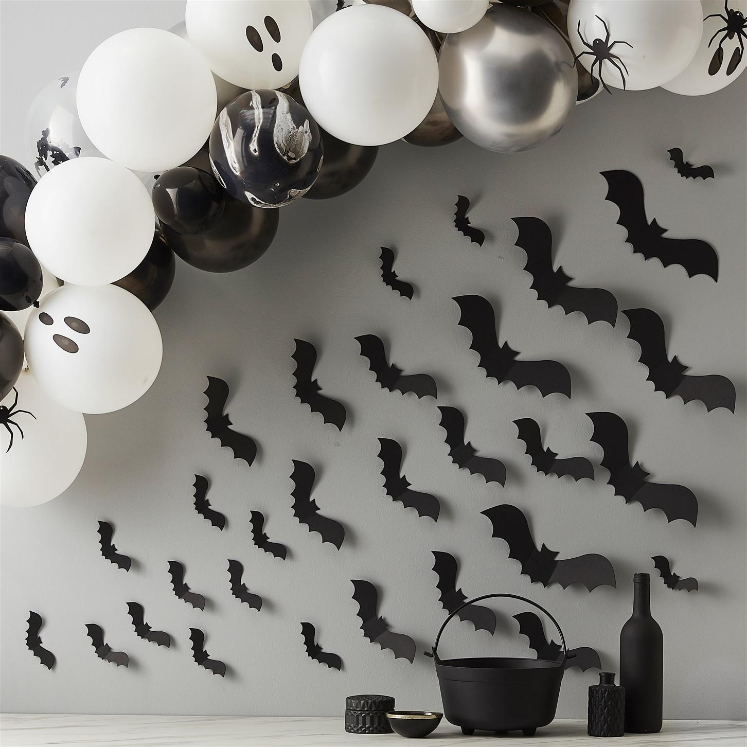 Χάρτινες Διακοσμητικές Νυχτερίδες – 30 Τεμάχια