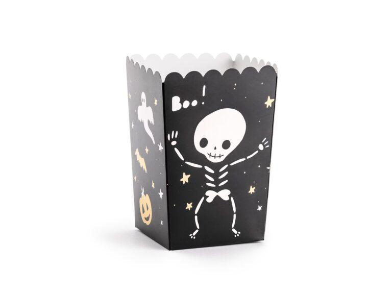 Χάρτινα Κουτάκια Ποπ Κορν BOO – 6 Τεμάχια