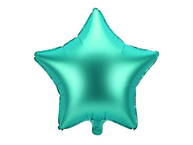Μπαλόνι Foil Πράσινο Αστέρι 48εκ