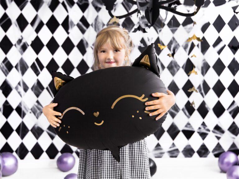Μπαλόνι Foil Μαύρη Γατούλα 48×36εκ