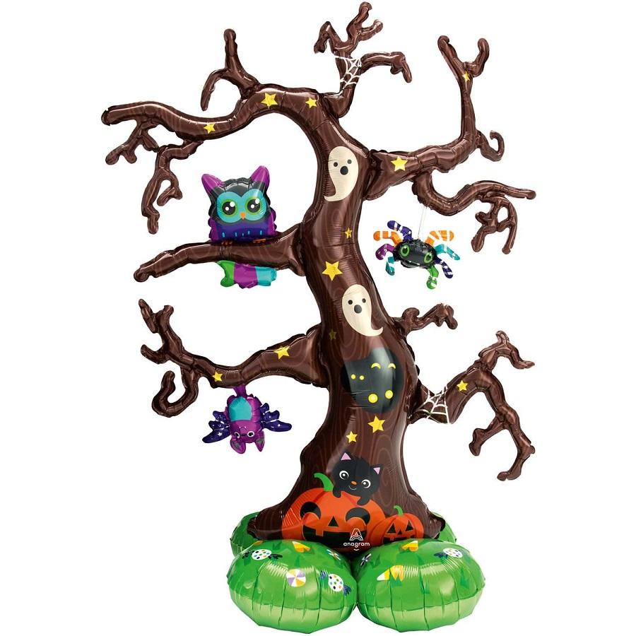 Μπαλόνι Foil  Creepy Tree 111×157εκ