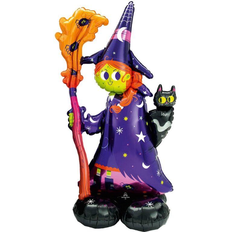 Μπαλόνι Foil Scary Witch 60×139εκ