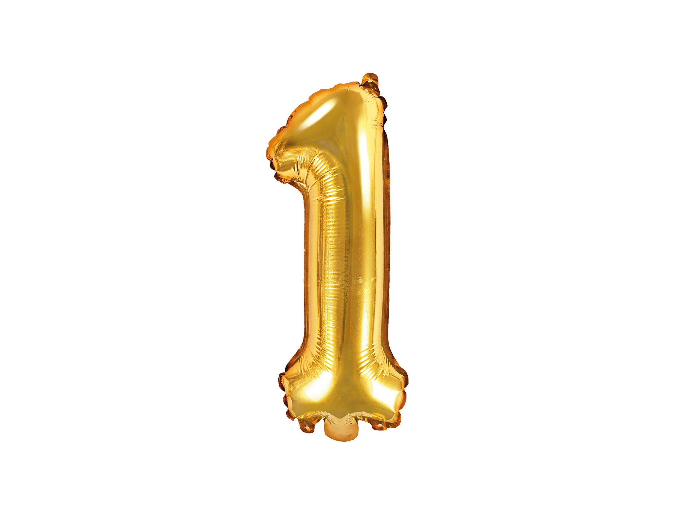 Μπαλόνι Foil Χρυσό Αριθμός Ένα 35εκ