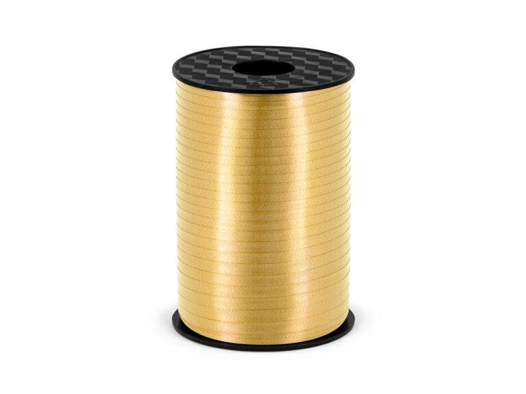 Πλαστική Κορδέλα Χρυσή 225 Μέτρα