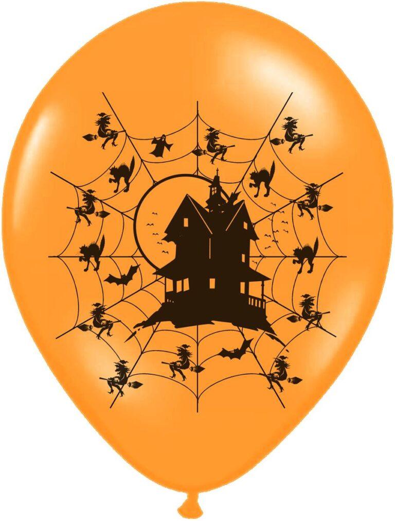 Μπαλόνια Latex Στοιχειωμένο Σπίτι – 6 Τεμάχια