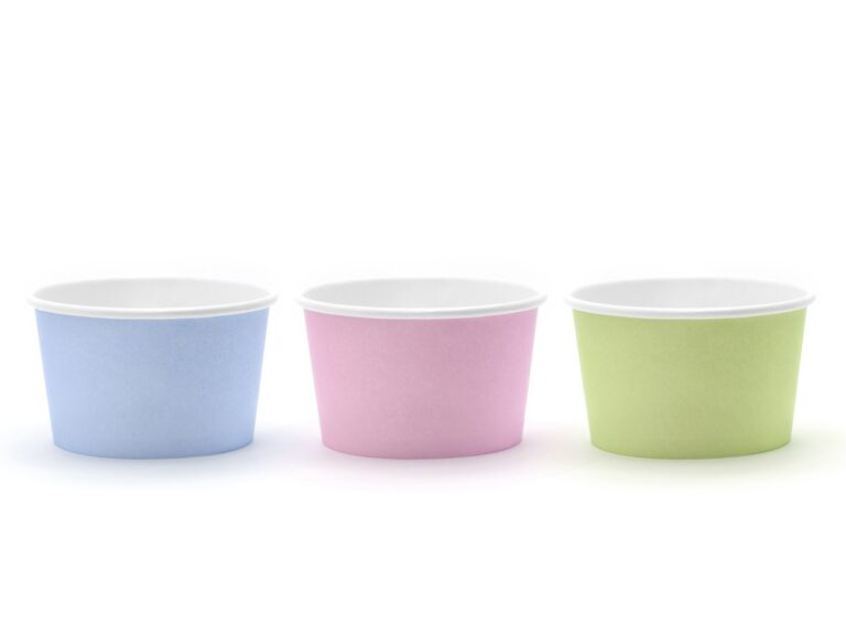 Χάρτινα Κυπελλάκια Παγωτού Pastel – 6 Τεμάχια