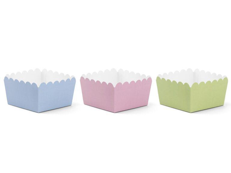 Χάρτινα Κουτάκια Κερασμάτων DIY – 6 Τεμάχια