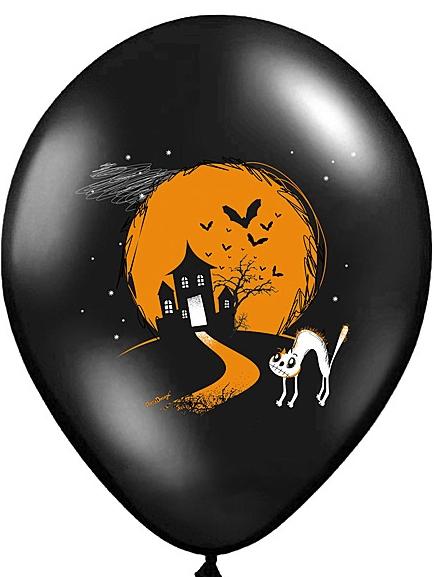 Μπαλόνια Latex Spooky – 6 Τεμάχια