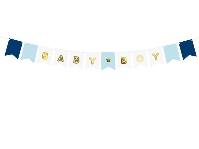 Χάρτινη Γιρλάντα Baby Boy
