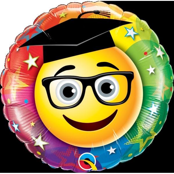Μπαλόνι Foil Smiley Graduate  46εκ