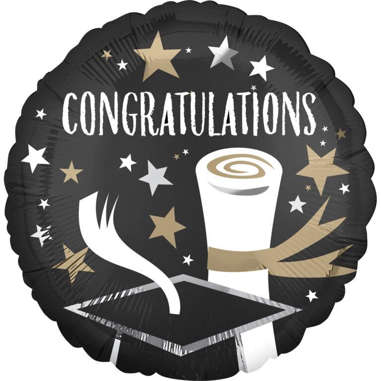 Μπαλόνι Foil Congratulations  43εκ