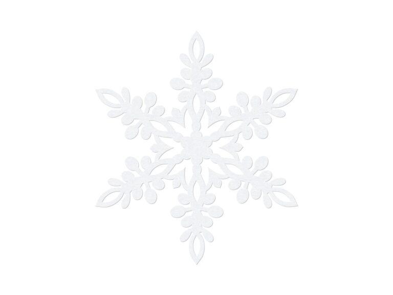 Χάρτινες Διακοσμητικές Χιονονιφάδες 11εκ – 10 Τεμάχια