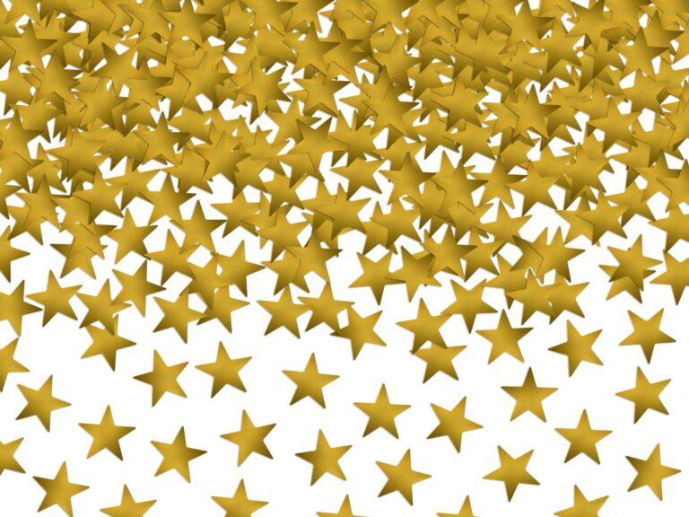 Κονφετί Χρυσά Αστεράκια – 30 Γραμμάρια