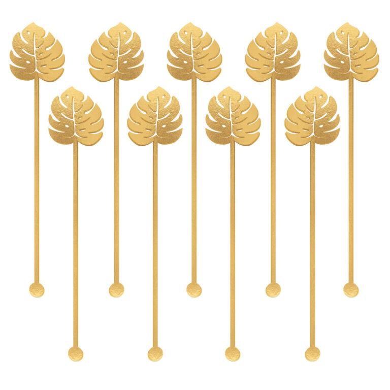 Αναδευτήρες Tropical Gold 12 Τεμάχια