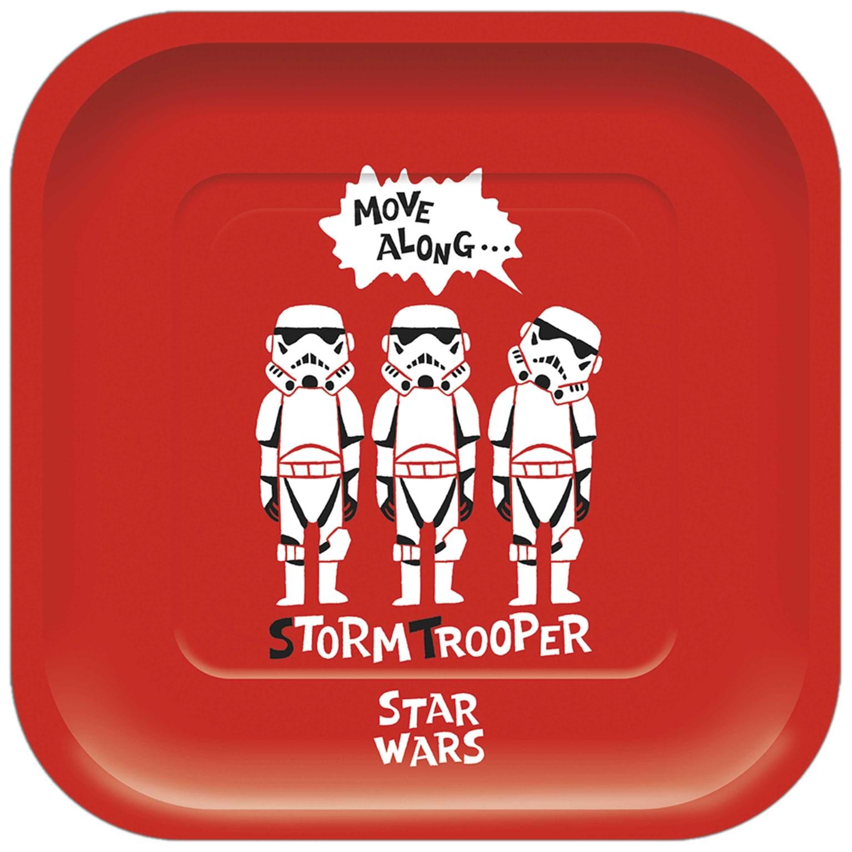 Χάρτινα Πιάτα Star Wars 24,4×24,4εκ – 4 Τεμάχια