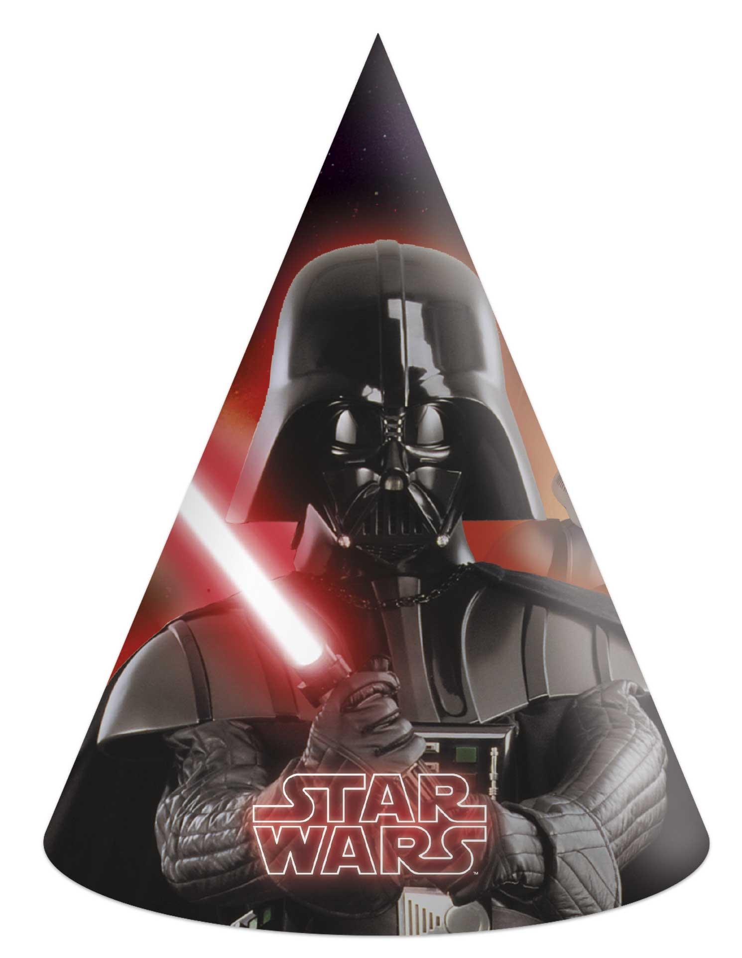 Χάρτινα Καπελάκια Star Wars – 6 Τεμάχια