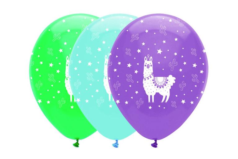 Μπαλόνια Latex Λάμα 30εκ – 6 Τεμάχια