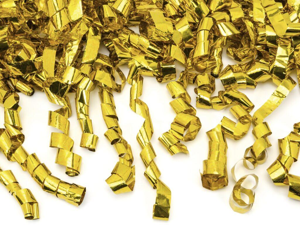 Κανόνι Σερπαντίνας Χρυσό 40εκ