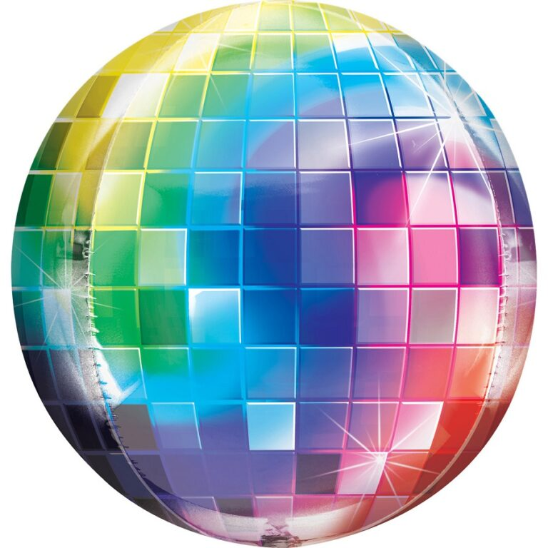 Μπαλόνι Foil Disco Ball 38×40εκ