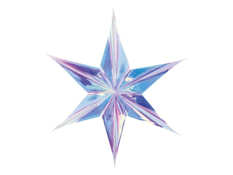 Foil Αστέρι Ιριδίζον 40εκ