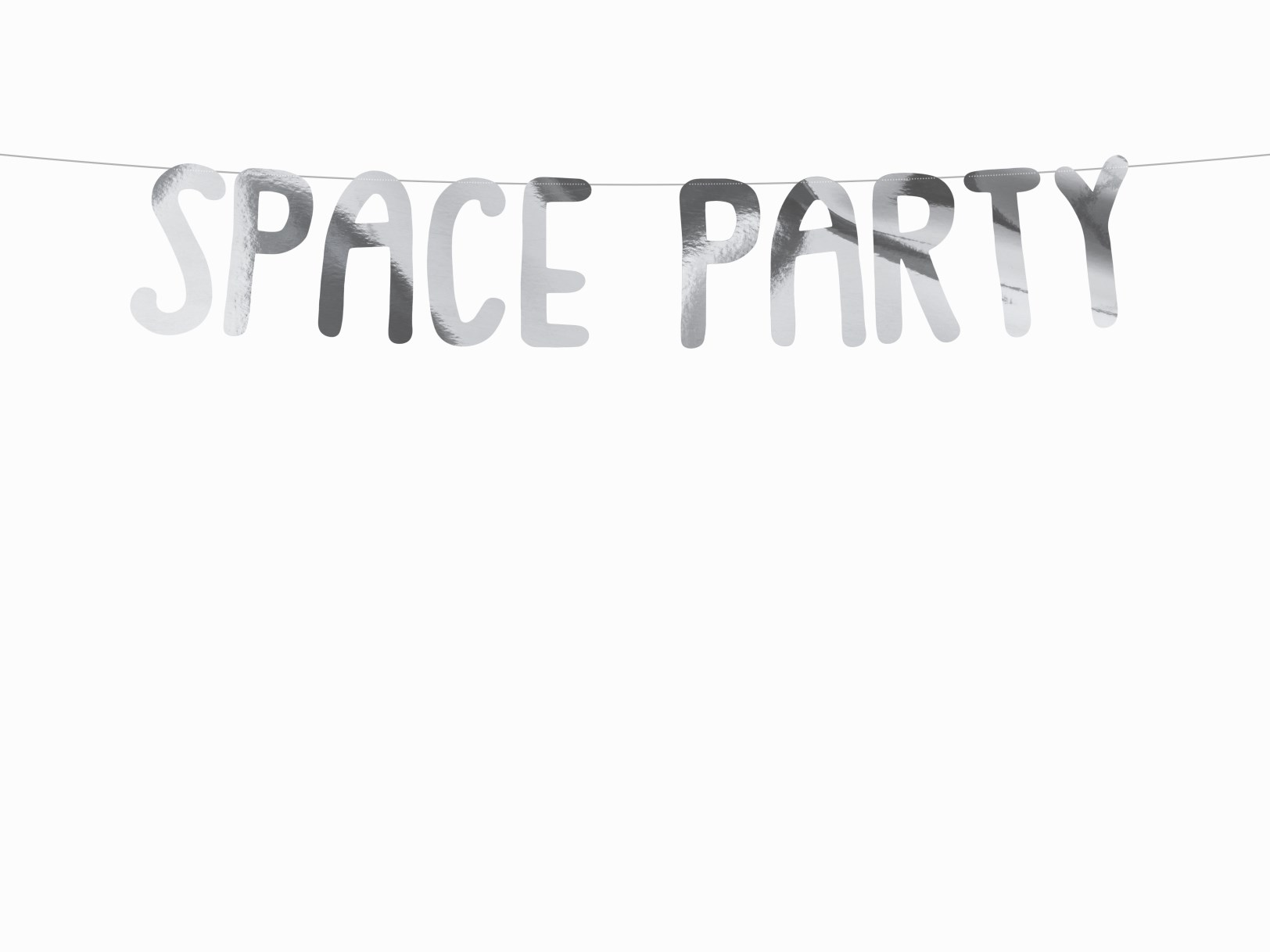 Χάρτινη Γιρλάντα Space Party
