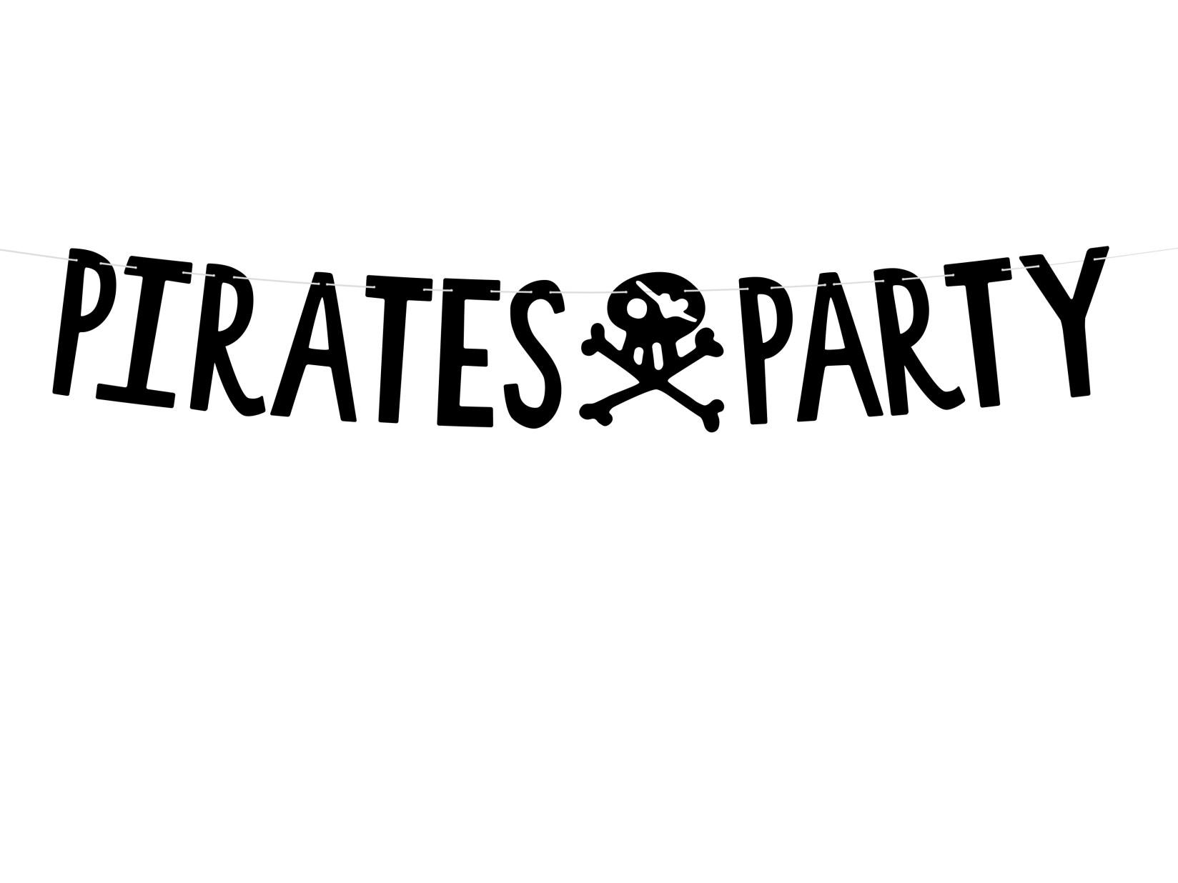 Χάρτινη Γιρλάντα Pirates Party