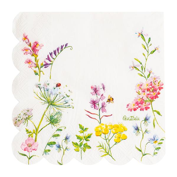 Χαρτοπετσέτες Bohemian Garden 33×33εκ – 16 Τεμάχια