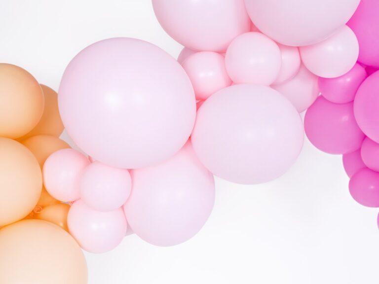 Μπαλόνια Latex Pastel Ροζ 27εκ – 50 Τεμάχια